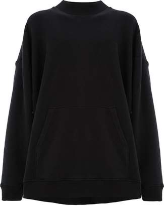 Y/Project Y / Project panelled hooded sweatshirt