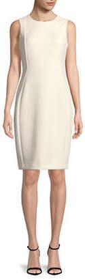 Calvin Klein Squiggle Sheath Dress