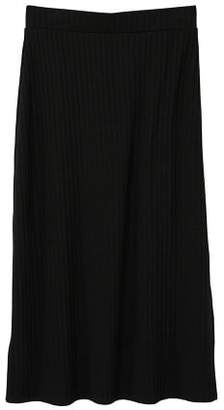 MANGO Cable knit skirt