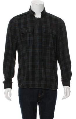 Nice Collective Plaid Flannel Shirt