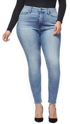 Good American Good Waist High Waist Ankle Skinny Jeans