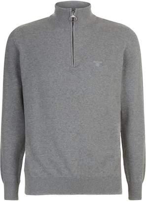 Barbour Half Zip Logo Sweatshirt