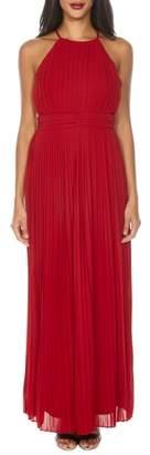 TFNC Serene Sleeveless Pleat Gown