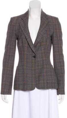 See by Chloe Patterned Button-Up Blazer