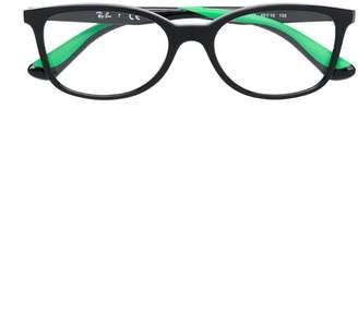 Ray-Ban Junior rectangular frame glasses