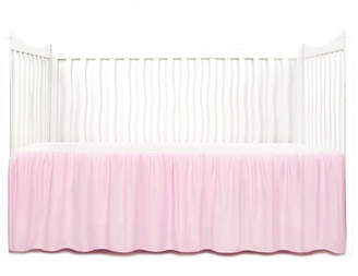 Tadpoles Gathered Microfiber Crib Skirt