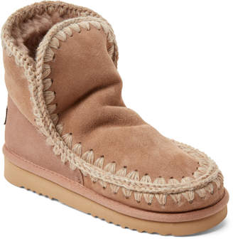 Mou Eskimo Real Fur-Lined Suede Boots