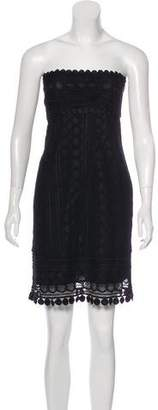 Anna Sui Lace Sheath Dress