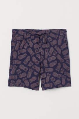 H&M Pajama Shorts - Pink