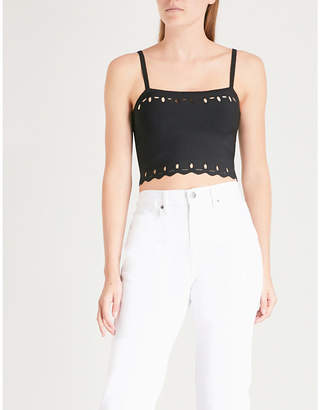 Sandro Cutout knitted top