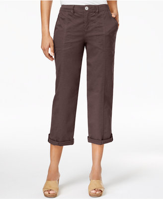 Style & Co Cuffed Capri Pants, Only at Macy's $49.50 thestylecure.com