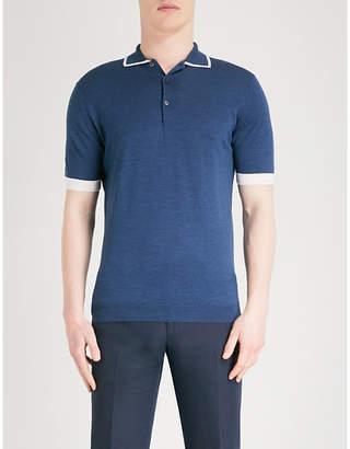 John Smedley Haddon wool polo shirt