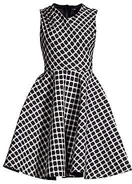 Maje Women's Crease Shoulder Fit-&-Flare Dress
