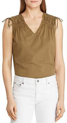 Ralph Lauren Tie-Shoulder Tank