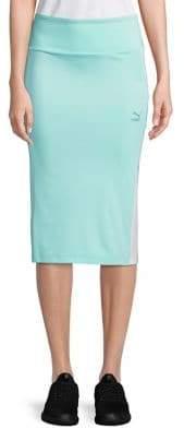 Puma Para Logo Pencil Skirt