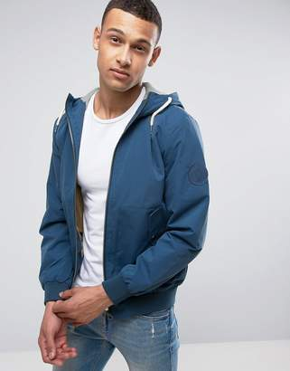 Jack and Jones Plain Drawstring Jacket