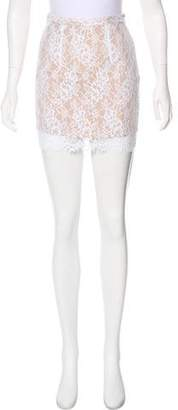 Charles Henry Lace Mini Skirt w/ Tags