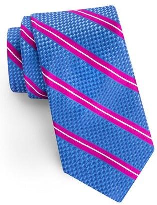 Men's Ted Baker London Stripe Grenadine Silk Tie $95 thestylecure.com