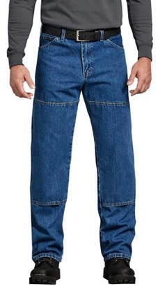 Dickies Men's Relaxed Fit Workhorse Double Knee Denim Jean