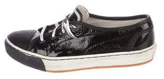 Alexander McQueen x Puma Patent Leather Low Top Sneakers