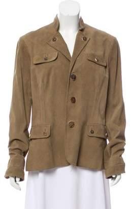 Ralph Lauren Suede Leather Jacket