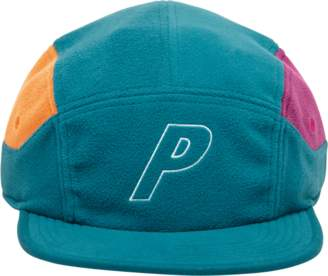 db0684c37d8 Palace P Fleece 7-Panel Cap Turquoise