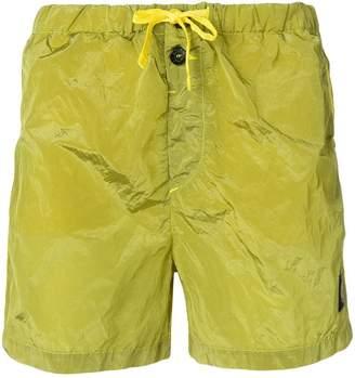 Stone Island drawstring waist swimming shorts