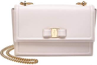 Salvatore Ferragamo Medium Vara Leather Shoulder Bag