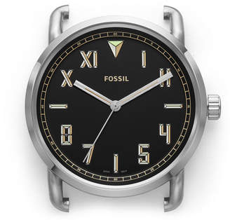 Fossil The Commuter Three-Hand Stainless Steel Watch Case