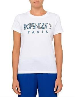 Kenzo Light Cotton Single Jersey Logo T Shirt