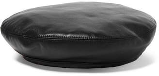 Eugenia Kim Cher Leather Beret - Black