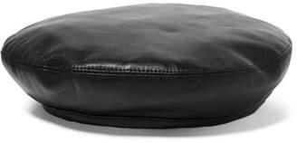 Eugenia Kim Cher Leather Beret - Black