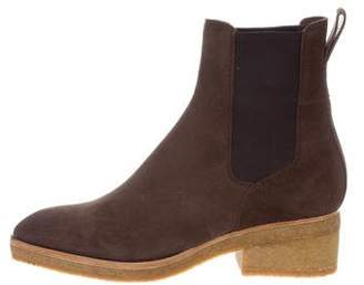 Dries Van Noten Suede Chelsea Ankle Boots w/ Tags