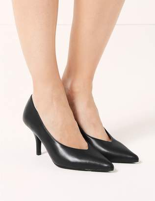 Marks and Spencer Stiletto Heel High Cut Court Shoes