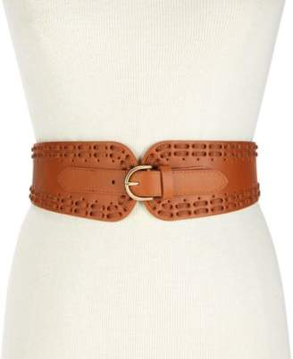 INC International Concepts I.N.C. Laced Stretch Waist Belt, Created for Macy's