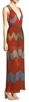 M Missoni Lurex Wave Intarsia Jumpsuit