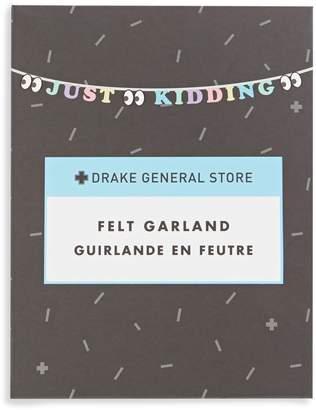Drake General Store Just Kidding Party Garland