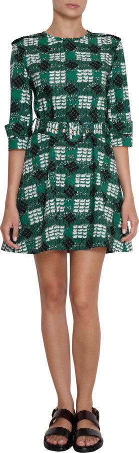Marni Printed Trench Dress