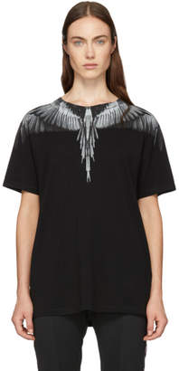 Marcelo Burlon County of Milan Black Wings T-Shirt