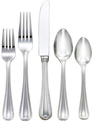 Lenox Vintage Jewel Frosted 5 Piece 18/10 Stainless Steel Flatware Set