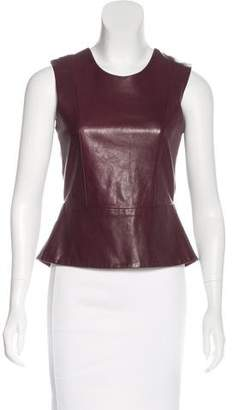 Mason Leather Sleeveless Top