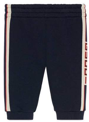 Gucci Baby track bottoms with stripe