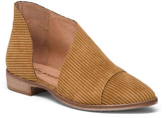 Made In Spain Corduroy Royale Flats