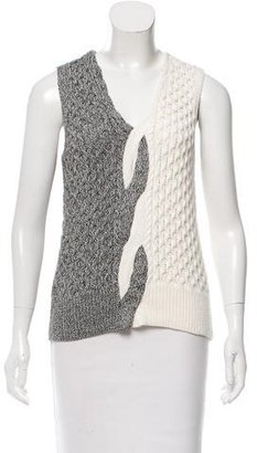 Thakoon Sleeveless Contrast Sweater w/ Tags