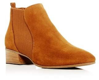 Aquatalia Women's Falco Weatherproof Suede Low-Heel Booties
