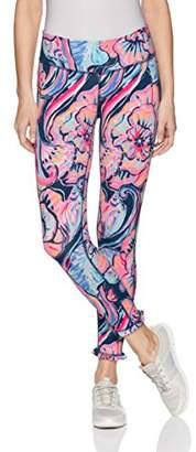 Lilly Pulitzer Women's UPF 50+ Marla Weekender Midi Legging