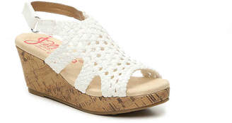 Jellypop Turvy Toddler & Youth Wedge Sandal - Girl's
