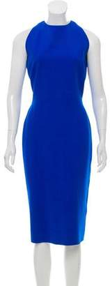Victoria Beckham Silk & Wool-Blend Dress