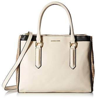 London Fog Women's Anise Triple Tote