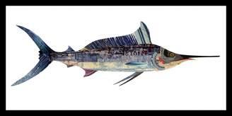 Soundslike HOME Collage Art Swordfish